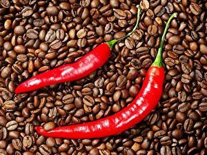 Hintergrundbilder Kaffee Chili Pfeffer Getreide das Essen