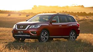 Bilder Nissan Rot 2017-19 Pathfinder Ti Autos