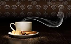 Papéis de parede Canela Chávena Açúcar Vapor Alimentos