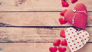Fotos Valentinstag Bretter Vorlage Grußkarte Herz