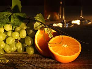 Fondos de Pantalla Uvas Naranja (Fruta)