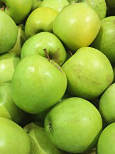 Bilder Äpfel Großansicht Grün