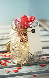 Hintergrundbilder Valentinstag Weckglas Herz