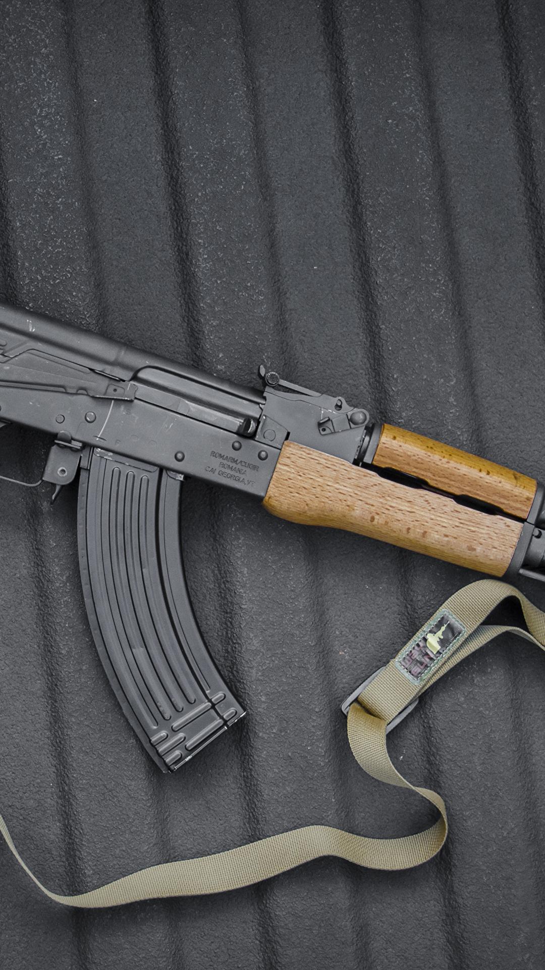 Fotos AK 47 Sturmgewehr Russische Heer 1080x1920 Kalaschnikow