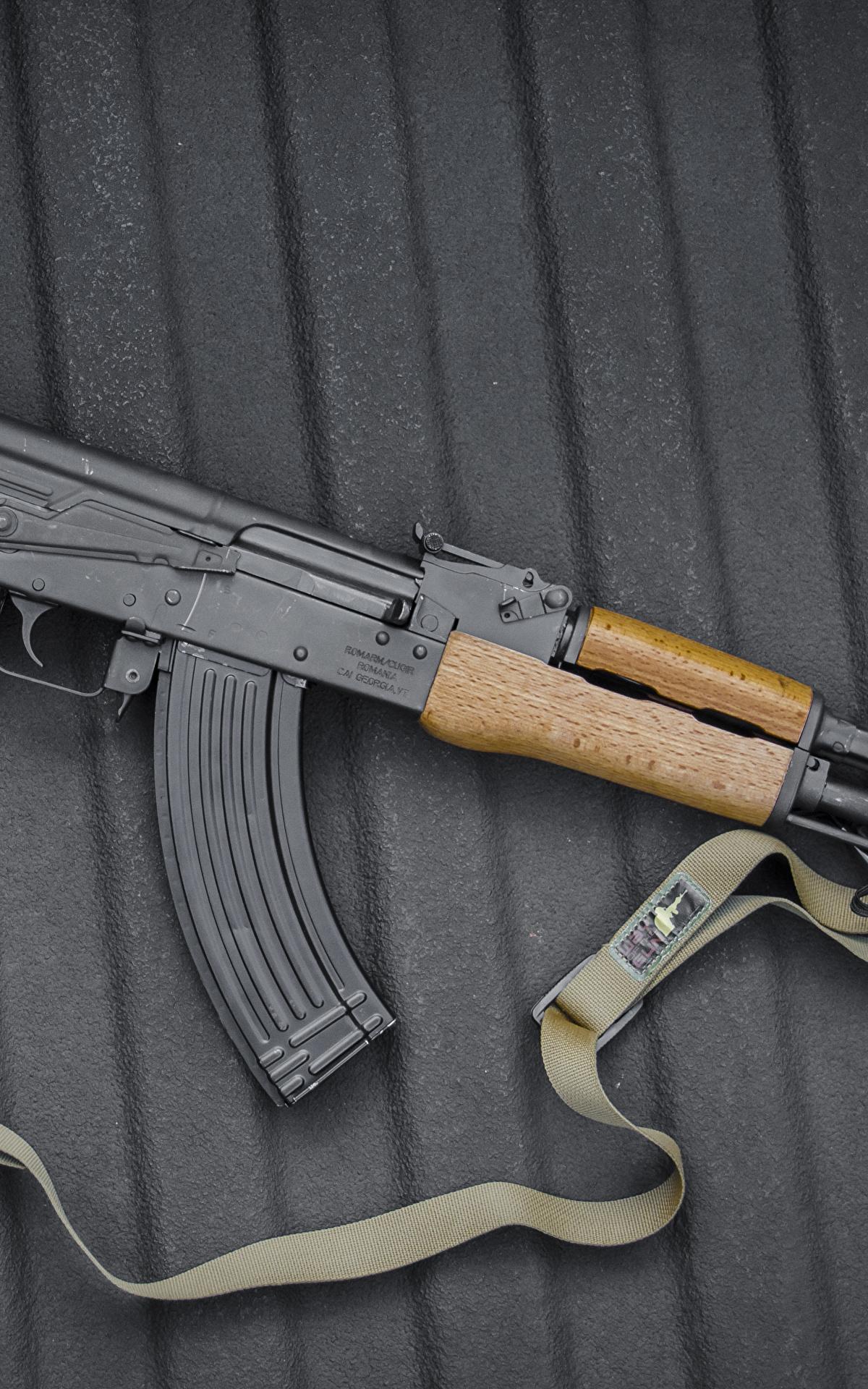 Fotos AK 47 Sturmgewehr Russische Heer 1200x1920 Kalaschnikow