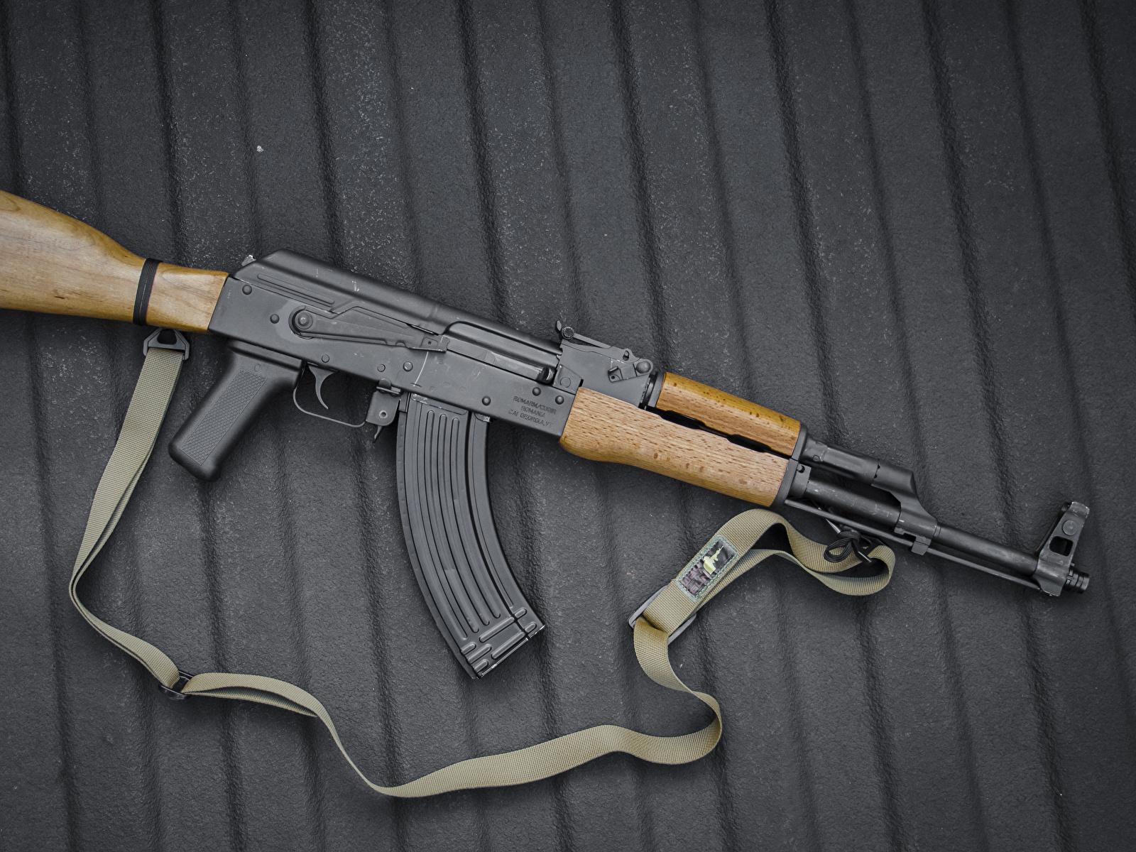 Fotos AK 47 Sturmgewehr russischer Heer 1600x1200 Kalaschnikow Russische russisches Militär