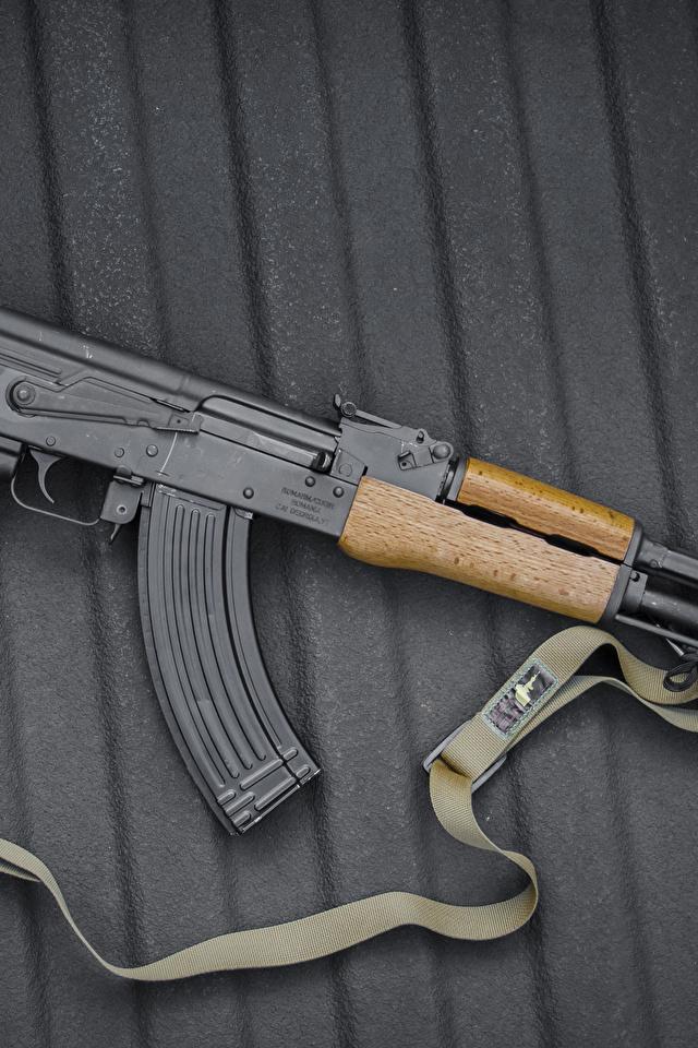 Photos AK 47 Assault rifle Russian Army 640x960 Kalashnikov