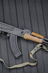 壁纸、、アサルトライフル、AK 47、ロシアの、陸軍