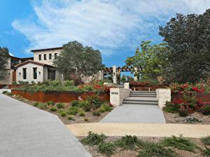 Fotos Vereinigte Staaten Haus San Diego Herrenhaus Design Stiege Bäume Städte