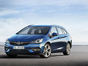 Bilder Opel Hellblau Metallisch 2019-20 Astra Sports Tourer Worldwide