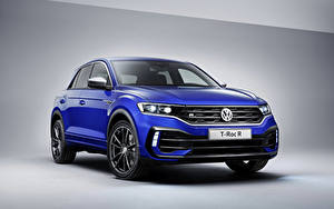 Photo Volkswagen Blue 2019 Volkswagen T-Roc R Worldwide auto