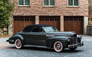 Hintergrundbilder Buick Retro Metallisch 1941 Buick Special Convertible Autos