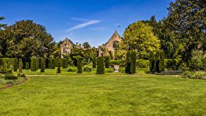Bilder Vereinigtes Königreich Park Design Strauch Rasen Nymans Gardens Natur