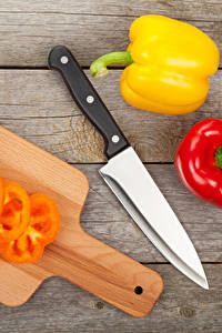 Fotos Peperone Messer Bretter Schneidebrett
