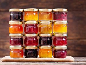 Hintergrundbilder Powidl Weckglas Lebensmittel