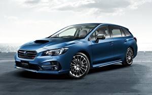 Fotos Subaru Blau Metallisch Levorg, STI Sport 2017