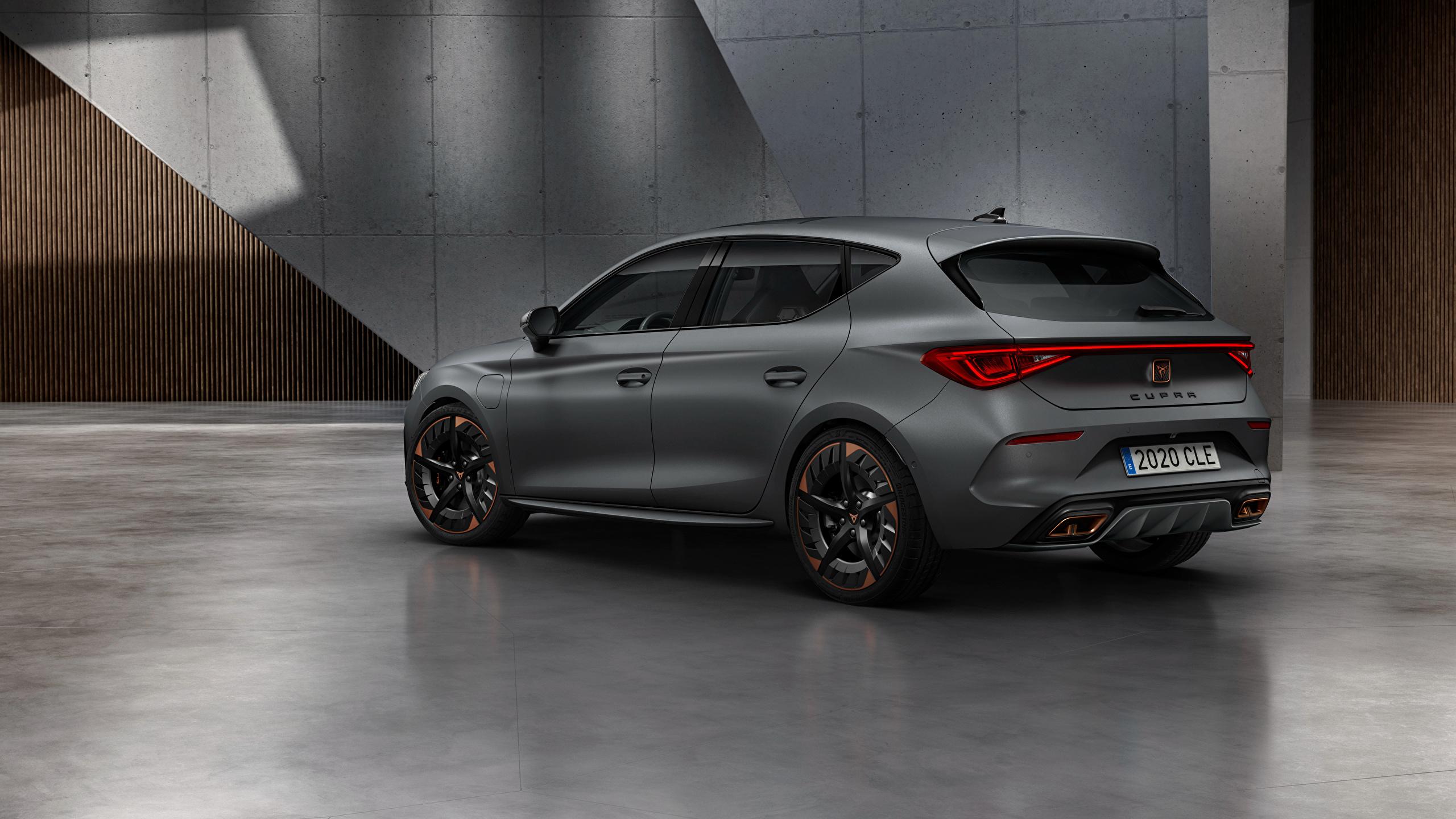 Foto Seat Cupra, Leon, eHybrid, Worldwide, 2020 graues Autos Seitlich 2560x1440 Grau graue auto automobil