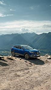 Hintergrundbilder Renault Blau 2018 Kadjar Worldwide auto