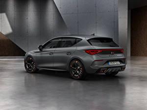 Fotos Seat Grau Seitlich Cupra, Leon, eHybrid, Worldwide, 2020 auto