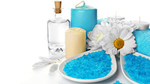 Picture Candles Spa Salt Oil