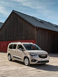 Bilder Opel Ein Van Metallisch 2018-19 Combo Life XL Turbo D auto