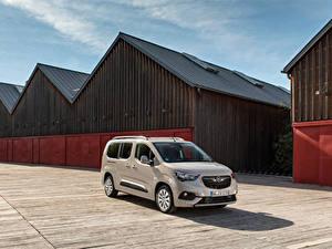 Bilder Opel Ein Van Metallisch 2018-19 Combo Life XL Turbo D