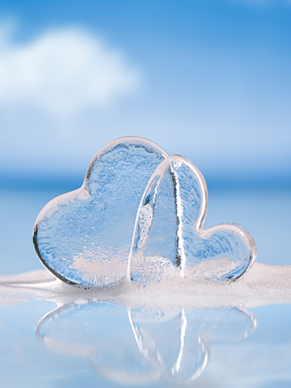 Fotos von Valentinstag Herz Eis 2 600x800 Zwei