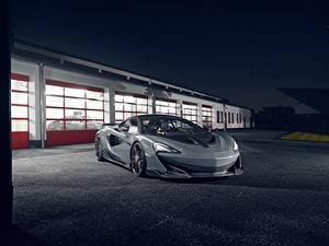 Photo McLaren Gray Novitec 600LT auto