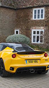 Fotos Lotus Gelb Metallisch Hinten 2016 Evora Sport 410 Autos