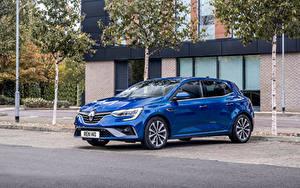 Hintergrundbilder Renault Blau Metallisch  Autos