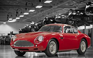 Hintergrundbilder Aston Martin Rot Metallisch 2019 DB4 GTZ Continuation Zagato Autos