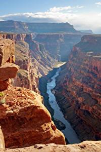 Fotos Grand Canyon Park USA Park Gebirge Flusse Canyon Felsen Natur