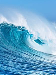 Hintergrundbilder Wasserwelle Ozean Großansicht