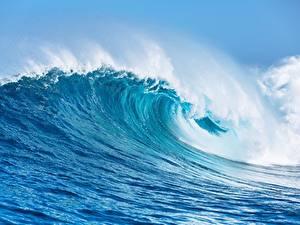 Hintergrundbilder Wasserwelle Ozean Großansicht Natur