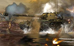 Fotos Panzer Russische T-54 3D-Grafik