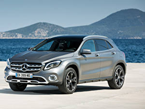 Pictures Mercedes-Benz Silver color Metallic Crossover GLA 220 d, 4MATIC, Worldwide, X156 auto