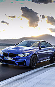 Pictures BMW Metallic Motion Blue 2017 M4 CS Worldwide automobile
