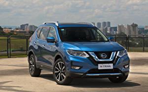 Fotos Nissan Hellblau Hybrid Autos 2019 X-Trail Hybrid Latam