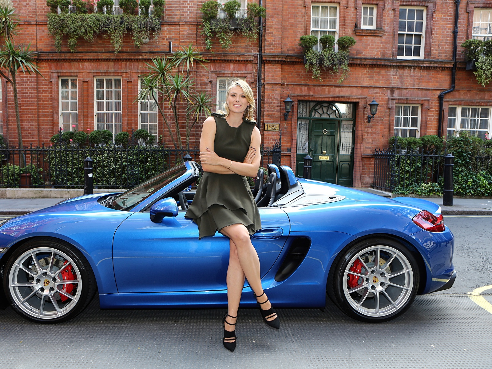 Wallpaper Maria Sharapova Porsche Girls Celebrities 1600x1200