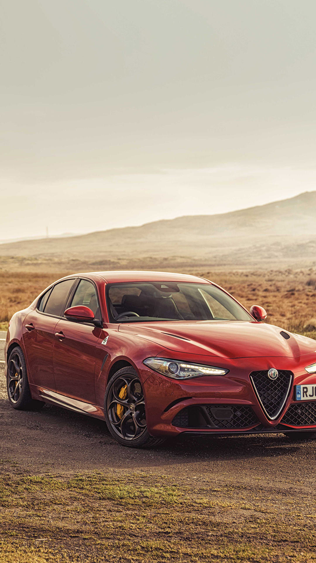 Image Alfa Romeo 2016 17 Giulia Quadrifoglio Red 1080x1920