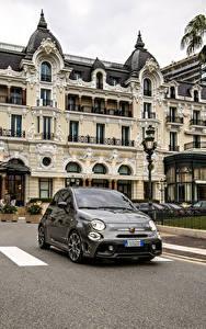 Bilder Abarth Grau Metallisch 2019 595 Turismo 70esimo Anniversario Autos