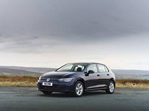 Fotos Volkswagen Blau Metallisch 2020 Golf Life auto