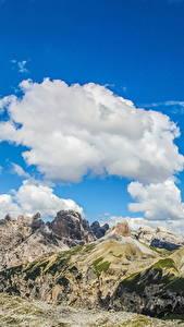 Hintergrundbilder Italien Landschaftsfotografie Gebirge Himmel Alpen Wolke Dolomiti