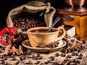Fotos Kaffee Getreide Untertasse Tasse