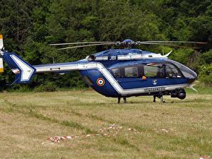 Fotos Hubschrauber Blau EC-145 B - F-MJBI Gendarmerie