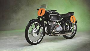 Picture Vintage BMW - Motorcycle Black 1939 RS 500 Kompressor (Type 255) Motorcycles