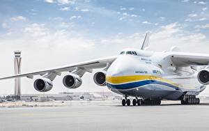 Picture Airplane Transport aircraft Russian An-225 Mriya Aviation