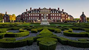 Bilder Deutschland Landschaftsbau Denkmal Palast Strauch Palace of Nordkirchen