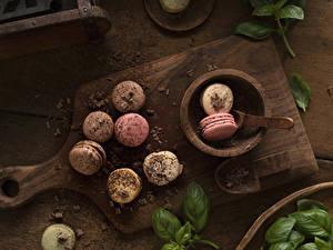 Picture Chocolate Cutting board Macaron Food