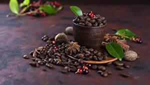 Bilder Kaffee Getreide Tasse Blattwerk